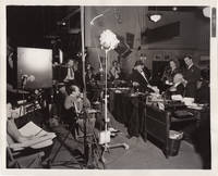 image of News is Made at Night (Original photograph from the set of the 1939 film)