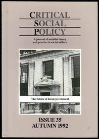 image of Critical Social Policy Issue 35 Autumn 1992