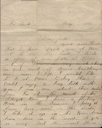 1898 letter describing life, travel and future prospects in the Northwest