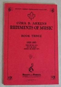 image of Rudiments Of Music. Book Three