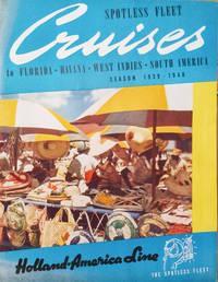 image of Spotless Fleet Cruises to Florida, Havana, West Indies, South America,  Season 1939-1940