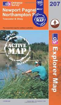 Newport Pagnell and Northampton South (OS Explorer Map Active)