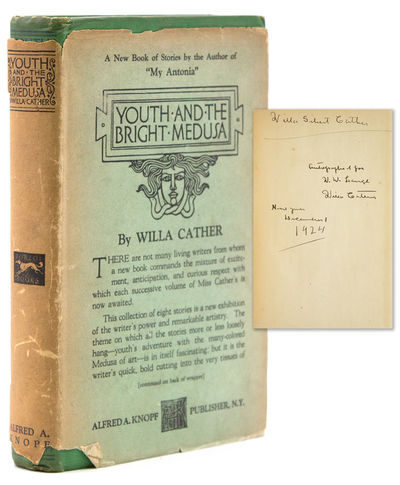 New York: Knopf, 1920. First Printing, with 1920 on the title-page. 303pp. 1 vols. 8vo. Publisher's ...