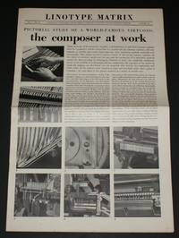 "Linotype Matrix - Issue Number 11, Autumn 1951. ""A Journal Published from Time to Time by Linotype and Machinery Limited"