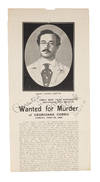View Image 2 of 2 for Wanted for Murder of Georgiana Goddu, Sunday, June 28, 1903.. Inventory #72427