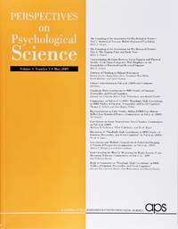 image of Perspectives On Psychological Science (Volume 4, Number 3, May 2009)