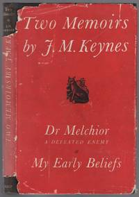 image of Two Memoirs. Dr. Melchior: A Defeated Enemy And My Early Beliefs