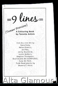 image of 9 LINES; A Colouring Book by Toronto Artists