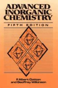 image of Advanced Inorganic Chemistry: A Comprehensive Text