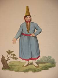 The Costume of the Russian Empire 1811. Original Hand Coloured Engraving by John Dadley (after Johann Gottlieb Georgi). Plate VIII: A Female Tschermiss [Tscheremiss/Mari/Cheremis]