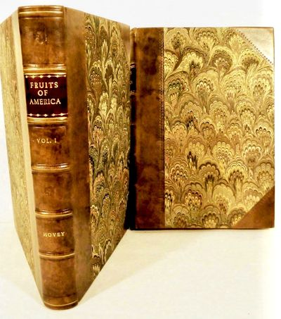 New York: D. Appleton, 1856. First edition. leather_bound. Modern three quarter brown calf and marbl...