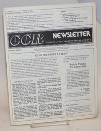 CCR newsletter: vol. 2, #2, March, 1978; Anti-Bryant Crusade