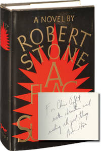 A Flag for Sunrise (First Edition, inscribed to fellow author Chris Offutt)