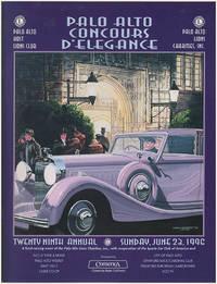 Twenty Ninth Annual Palo Alto Concours d'Elegance (June 28, 1996)