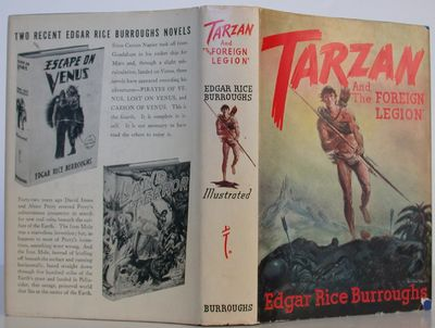 Burroughs Tarzana, 1947. 1st Edition. Hardcover. Fine/Near Fine. First edition (so stated on copyrig...