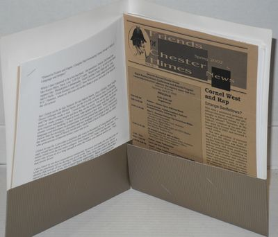 Oakland: the Program, 2002. Folder with label logo, includes the 1st place winner of the Chester Him...