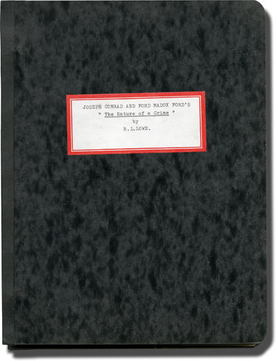N.p.: N.p., 1970. Draft script for an unproduced film, adapted from the collaborative novel written ...