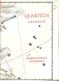 Catalogue 977/1977: Medical, Scientific and Technological Books.