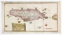 Die Insel Sanct Thomas mit den Plantagen 1767