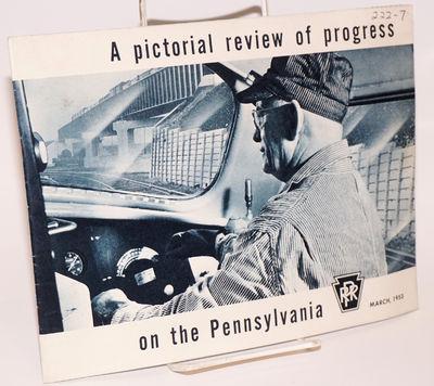 Philadelphia : Pennsylvania Rail Road, 1953. Pamphlet. Unpaginated pamphlet printed on still-bright ...
