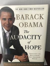 image of The audacity of hope thoughts on reclaiming the American dream