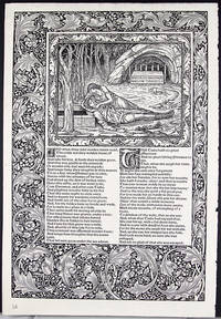 Leaf from the Kelmscott Chaucer with an Essay on its Commercial History by John Windle