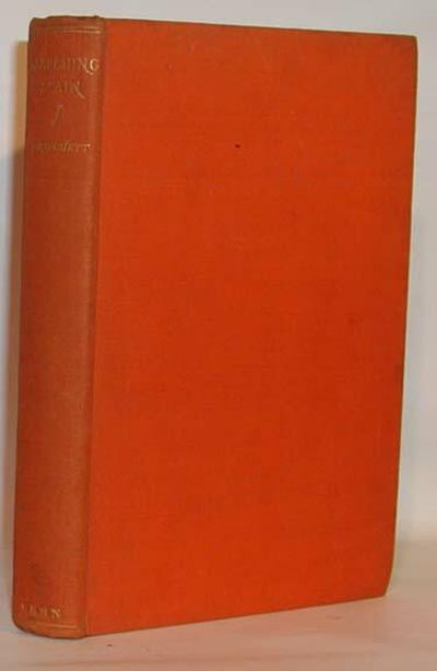 London: Ernest Benn Limited, 1928. First Edition. First printing Very good in lightly soiled orange ...