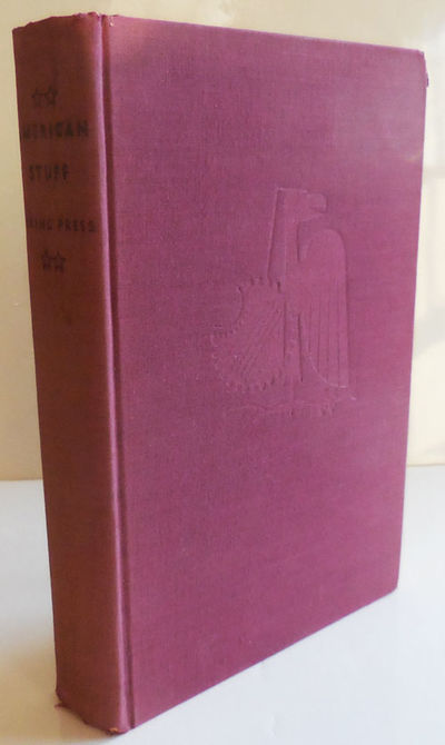 New York: Viking Press, 1937. First edition. Cloth. Very Good. Clothbound 8vo. 301 pp. Anthology of ...