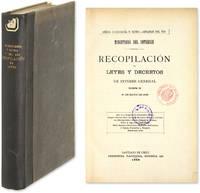 Recopilacion de Leyes y Decretos de Interes General Vigentes..