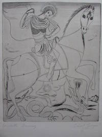 Etching on paper: