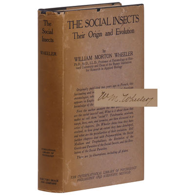 The Social Insects: Their Origin and...