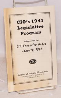 CIO\'s 1941 legislative program