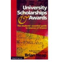 A Guide to University Scholarships and Awards 1999