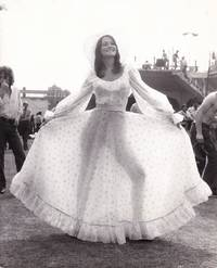 image of Original photograph of Linda Lovelace at Lord's cricket ground, June 20, 1974