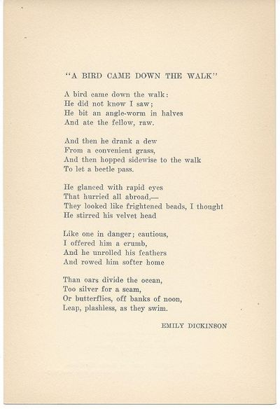 New York: Poet's Guild, 1925. 1st separate edition, broadside. Published in