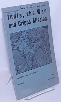 image of India, the war and Cripps mission