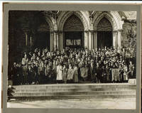 ORIGINAL VINTAGE PHOTOGRAPH of ATTENDEES at the UNITED SOCIETY OF CHRISTIAN ENDEAVOR\'S \