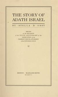THE STORY OF ADATH ISRAEL