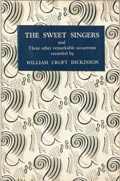 Edinburgh, London: Oliver and Boyd, 1953. Octavo, decorated stiff card wrappers. First edition. Coll...