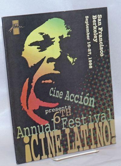 San Francisco: Cine Acción, 1996. 56p., includes covers, 8.25x10.75 inches, sponsors, calendar, fil...
