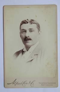 Cabinet Photograph: Portrait of a Gentleman with a Moustache.