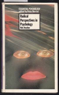 image of Radical Perspectives in Psychology