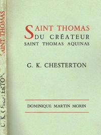 SAINT THOMAS DU CREATEUR