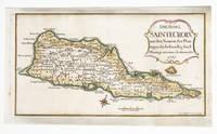 Die Insel Sainte Croix mit den Namen der Plantagen die bestraendig sind