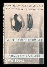 image of All you who sleep tonight : poems