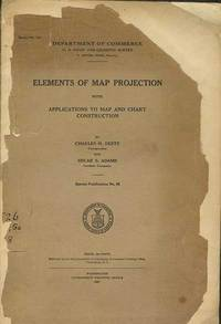 image of ELEMENTS OF MAP PROJECTION with Applications to map and chart construction:  Special Publication No. 68