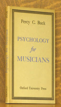 image of PSYCHOLOGY FOR MUSICIANS