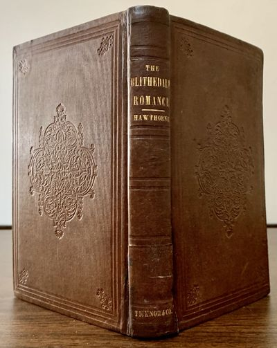 Boston: Ticknor, Reed & Field, 1852. First edition. Hardcover. Orig. brown publisher's cloth sharp, ...
