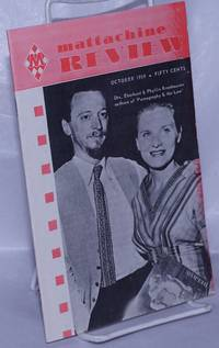 image of Mattachine Review: vol. 5, #10, October, 1959: Drs. Eberhard_Phyllis Kronhausen