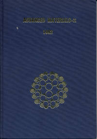 Advanced Materials III, Proceedings of the Special Symposium on Advanced Materials, High Tech Materials, 1991, Nagoya Japan